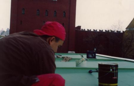 Επισκευή στέγης και υγρομόνωση στο κτίριο του Κρεμλίνου στη Μόσχα  - Media Gallery