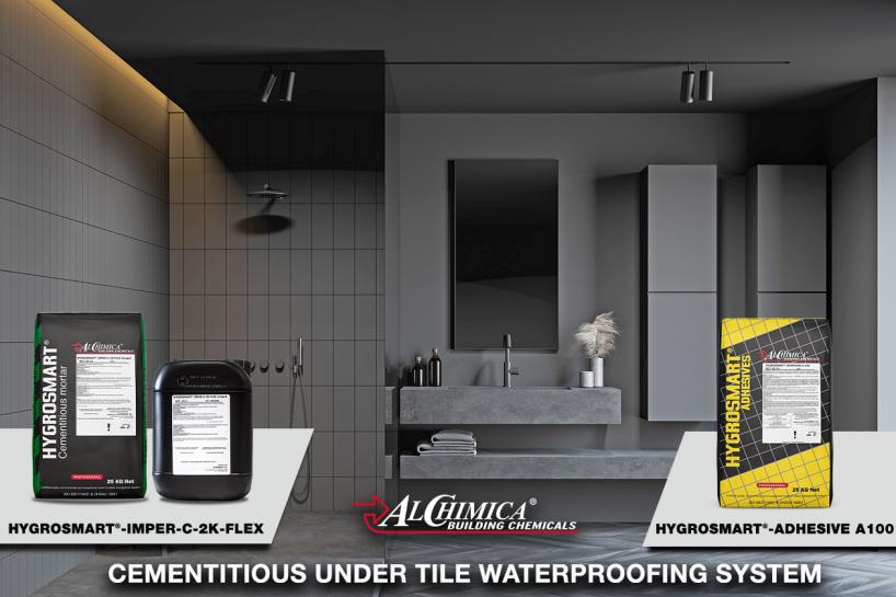 Under Tiles Wet Room Waterproofing - 4