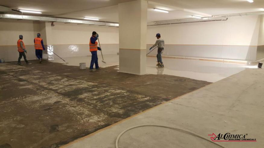 Indoor car park flooring system - 4