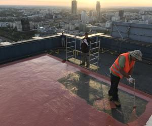 Oxford Tower Roof Refurbishment with Hyperdesmo® (Warsaw, Poland) - Κεντρική Εικόνα