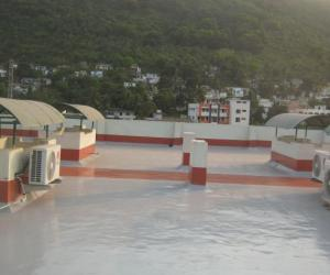 Waterproofing roof of the Eye Hospital in India with HYPERDESMO® - Κεντρική Εικόνα